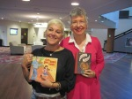 With Author Carole Lindstrom.